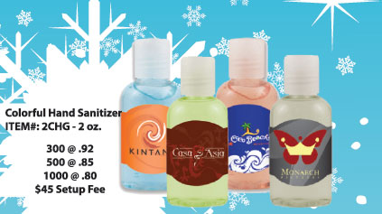 Colorful Hand Sanitizer